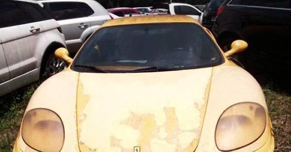 Ferrari que pertencia a traficante vai a leilão em SP - Fotos - R7 São ...