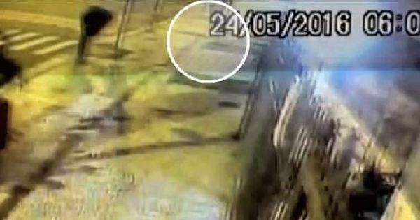 Vídeo mostra corpo de homem logo após queda de prédio em ...
