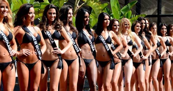 Candidatas do Miss São Paulo 2016 desfilam de biquíni para júri ...