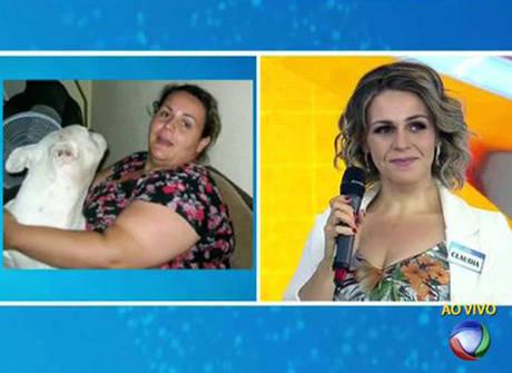 Mulher emagrece 58 kg após perder o celular nas dobras da barriga