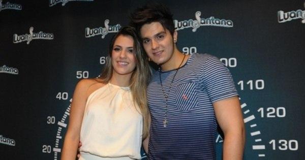 Chega ao fim o namoro de Luan Santana e Jade Magalhães ...