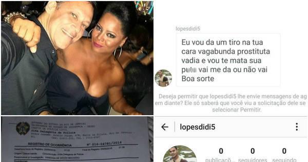 """Adriana Bombom é ameaçada de morte por internauta: """"Ele disse ..."""