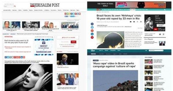 'Cultura do estupro' no Brasil é destaque na imprensa internacional ...