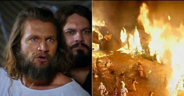 Corá reclama de Moisés e Deus coloca fogo no acampamento dos ...
