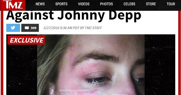 Amber Heard diz que álcool e cocaína transformaram Johnny Depp ...