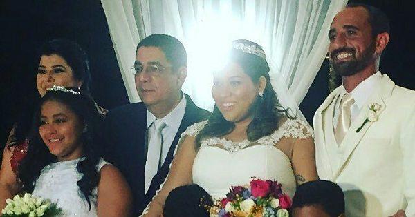 Zeca Pagodinho casa a filha Eliza com a presença de famosos ...