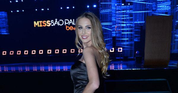 Marthina Brandt marca presença no Miss São Paulo 2016 - Fotos ...
