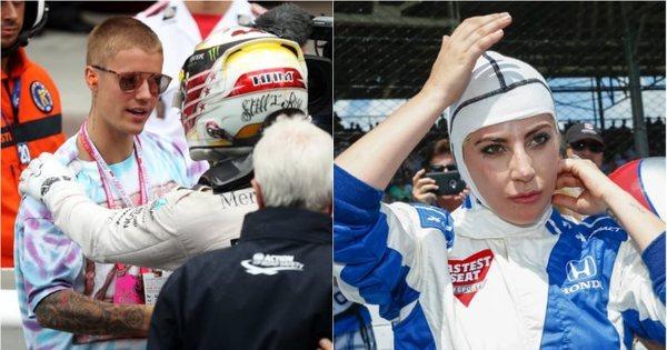 Fórmula 1 ou Fórmula Indy? Ídolos do pop visitam principais provas ...