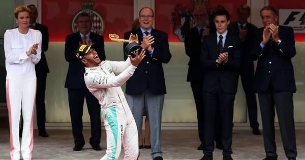 Em corrida movimentada, Hamilton vence GP de Mônaco da ...