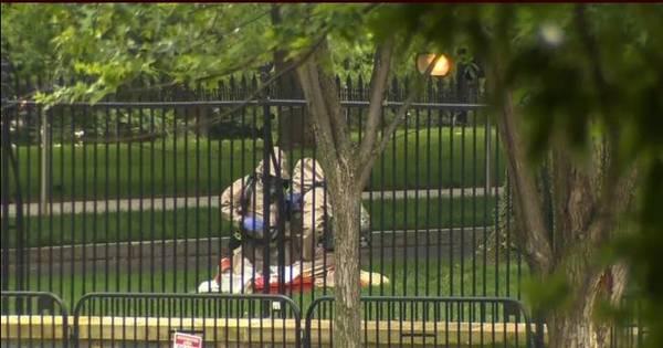 Parte da Casa Branca é bloqueada por causa de pacote suspeito ...