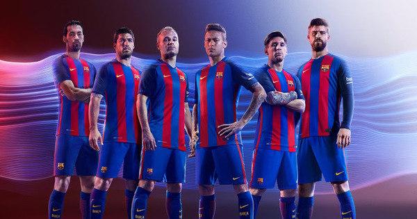 Barcelona divulga novo uniforme inspirado em time campeão com ...