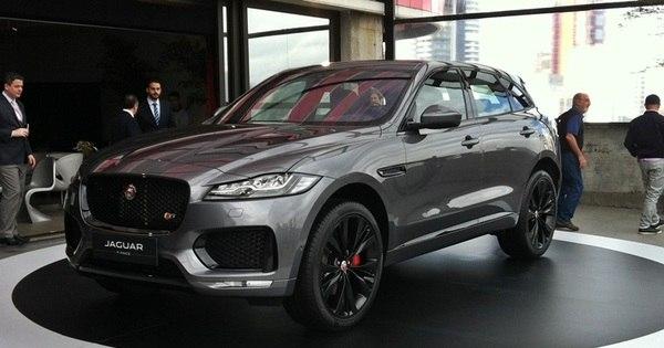 Jaguar apresenta o F-Pace, seu inédito SUV que parte de R$ 309.300