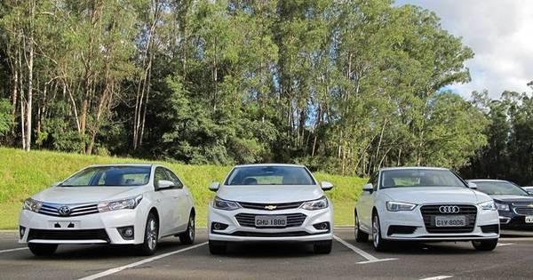 Chevrolet põe Corolla e A3 sedã contra o novo Cruze - Fotos - R7 ...