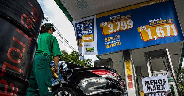 Mudança no imposto reduz preço dos combustíveis a partir de ...