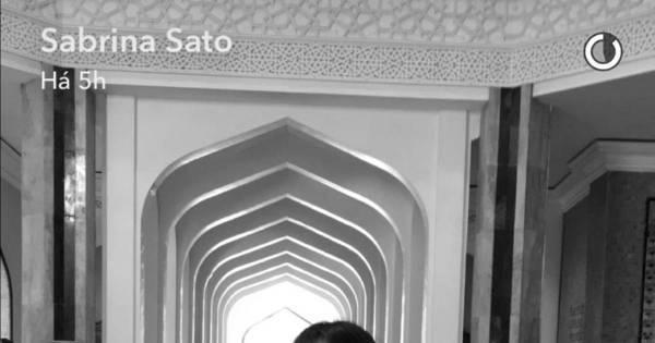 Sabrina Sato viaja para Turquia e fala da saudade do namorado ...