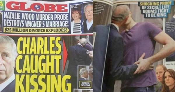 Revista mostra foto de suposto beijo entre príncipe Charles e rapaz ...