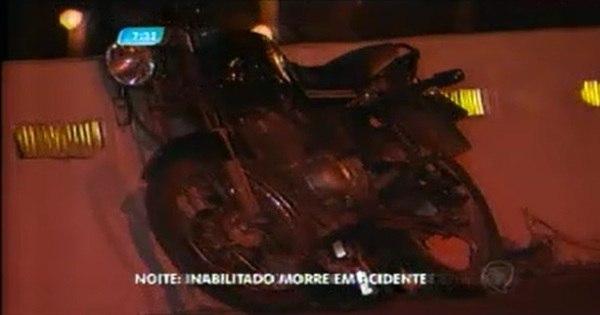 Motociclista inabilitado morre em acidente na MG-010 - Notícias ...