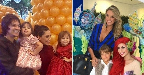 Gêmeas de Natália Guimarães e Rafinha Justus esbanjam fofura ...