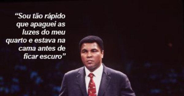 Muhammad Ali tinha frases mais fortes que seus golpes - Fotos - R7 ...