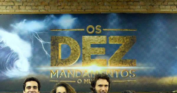 Conheça os protagonistas de Os Dez Mandamentos - O Musical ...