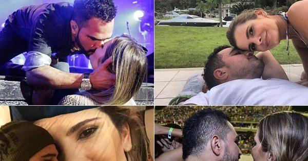 """É o amor! Luciano Camargo se derrete pela mulher: """"Dona do meu ..."""