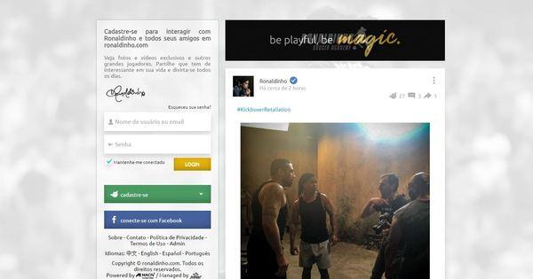 O espírito do Orkut está de volta: Ronaldinho Gaúcho lançou seu ...