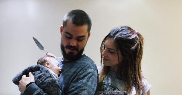 Rubia Baricelli comemora dois meses da filha com direito a bolo ...