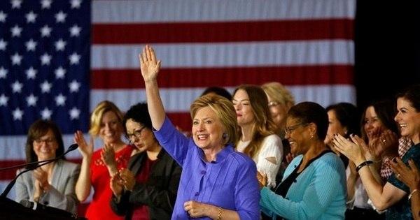 Hillary alcança número mínimo de delegados para ser a indicada ...