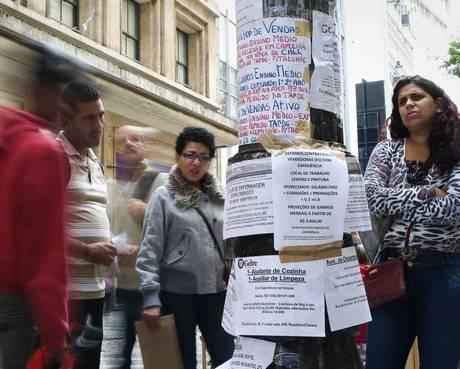 Polícia cumpre mandados em falsa agência de empregos de São Paulo