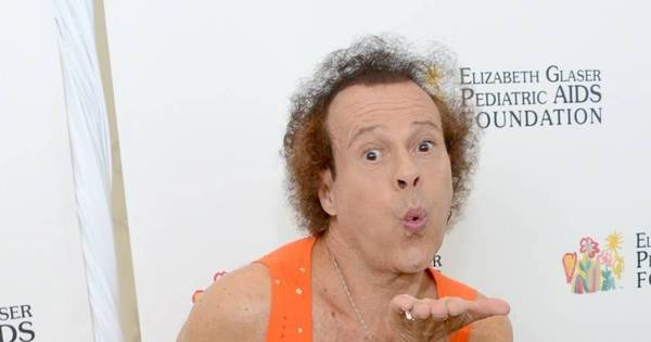"Ator Richard Simmons é internado por causa de ""comportamento ..."