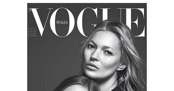 Filha de Kate Moss estampa capa de revista ao lado da mãe ...