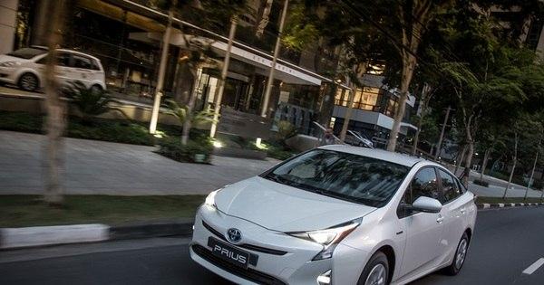 Toyota lança novo Prius por R$ 119.950; autonomia é de 18,9 km/l ...