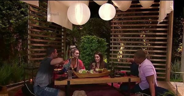 """Simony e Patrick se juntam a Laura e Jorge para garantir a final: """"É ..."""