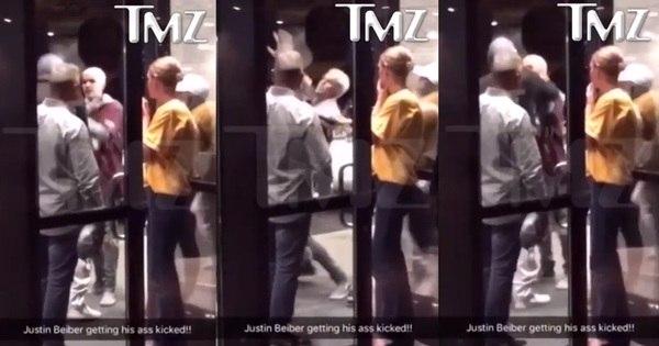 Justin Bieber arruma confusão e briga em porta de hotel nos ...