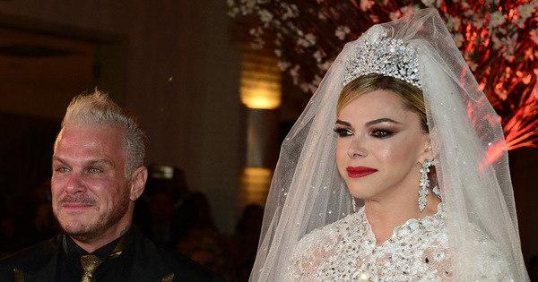 Léo Áquilla se casa com Chico Campadello em festa luxuosa em ...