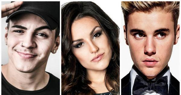 Biel, Kéfera e Justin Bieber: veja as celebridades que foram ...