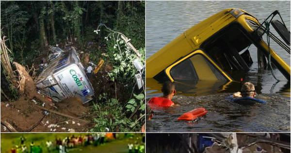 Veja os 10 piores acidentes com ônibus no Brasil - Fotos - R7 Cidades