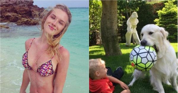 Perdeu isso? Pato fotógrafo e filho de Neymar com o cachorro ...