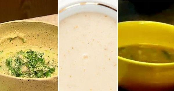 Aprenda a fazer sopas deliciosas e com poucas calorias para se ...