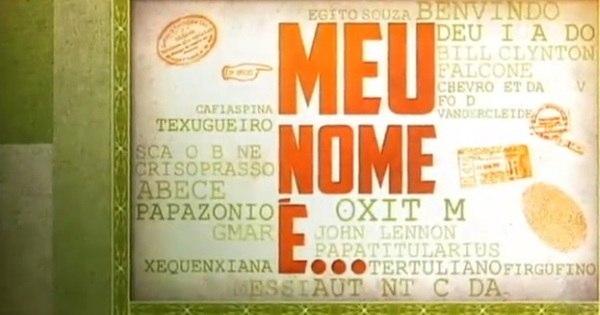 Meu Nome É... - Jornal da Record - R7 Séries