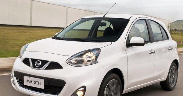 Nissan lança câmbio automático nos compactos New March e New ...