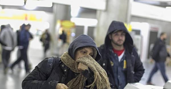 Temperatura chega a 0,7°C na zona sul de São Paulo - Notícias ...