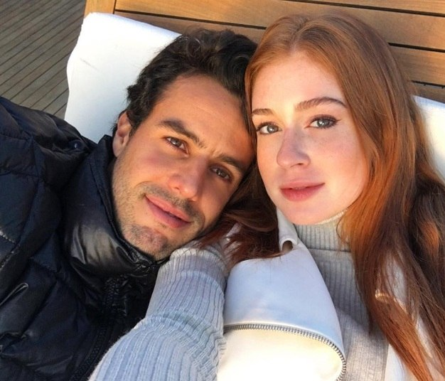 Marina Ruy Barbosa se declarou paraXandinho Negrão.—Feliz dia dos namorados meu amor! Obrigada por fazer eu me sentir especial e feliz! Te amo muito!