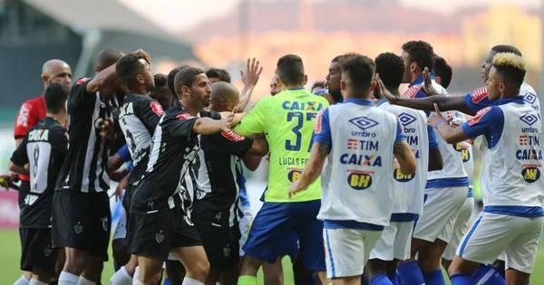 Fred marca em estreia pelo Atlético- MG, mas Cruzeiro vence ...