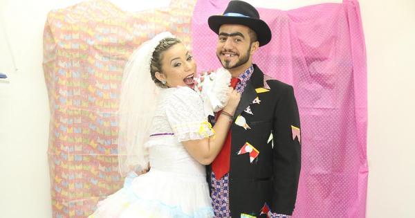 Matheus e Cacau se casam em arraiá solidário - Fotos - R7 ...
