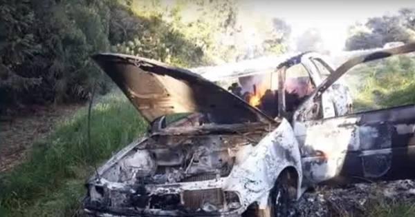 Corpos são encontrados carbonizados em estrada de São Domingos