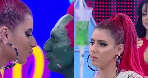 Thais Bianca conquista o coração de Hulk Magrelo, mas se ...