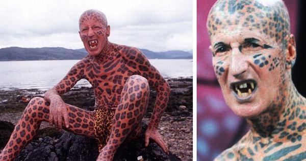 Aos 81 anos, misterioso Homem-Leopardo morre como escolheu ...