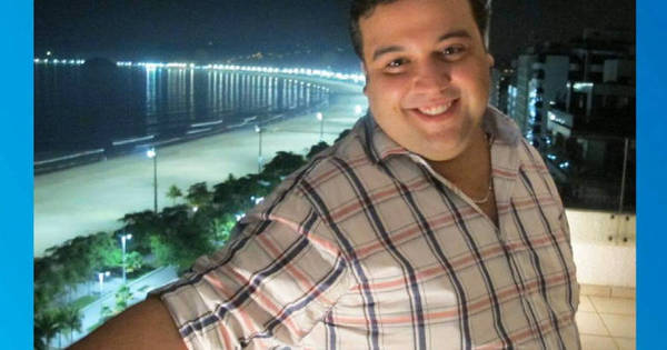 Impressionante! Após desilusão amorosa, jovem perde 90 kg sem ...