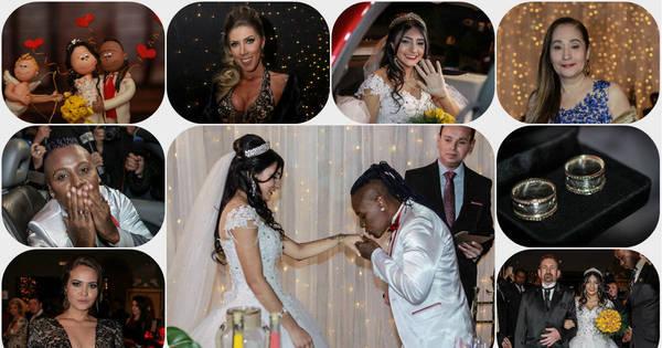 Choro, festa e muita diversão! Veja tudo o que rolou no casamento ...